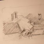 Rooftops Sketch