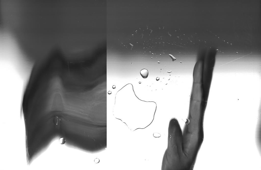 Drawing with Air and Water #16