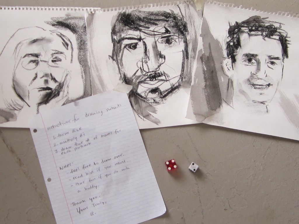 Dice Drawing (Collaborative Performance Piece)