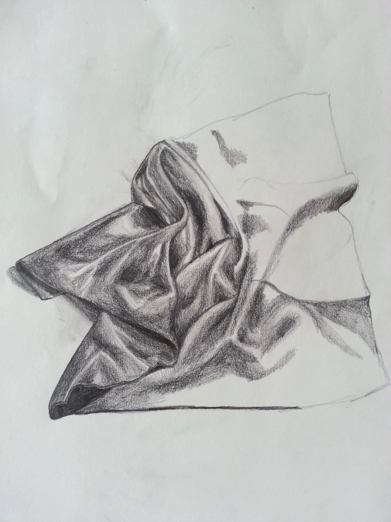 Drawing - Drapery_1