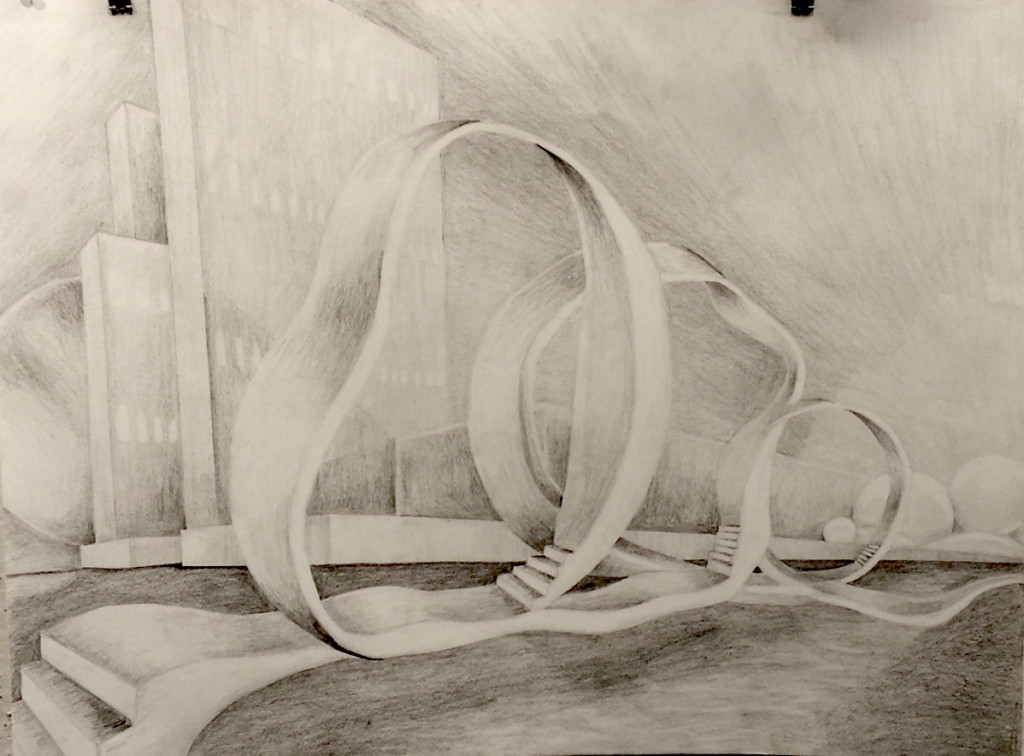 Drawing - Perspective: Liesl C Fall 2015
