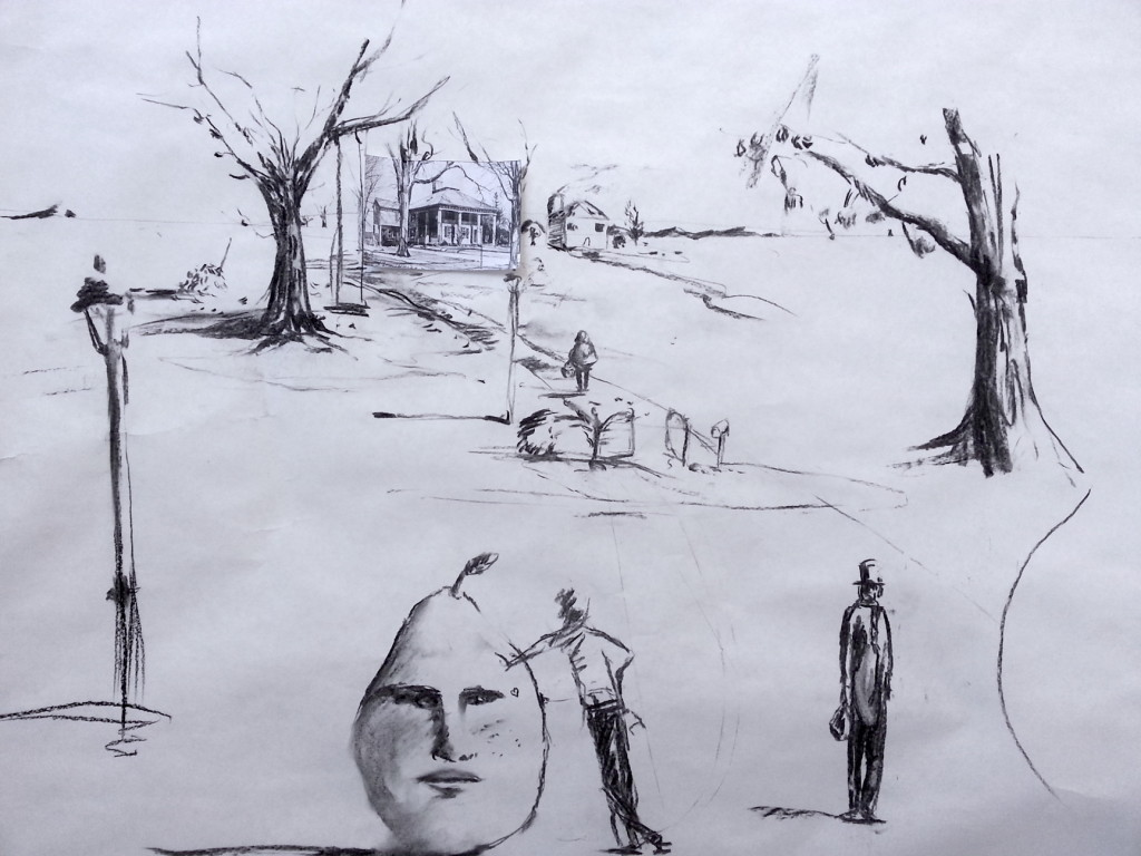 Drawing - Perspective8