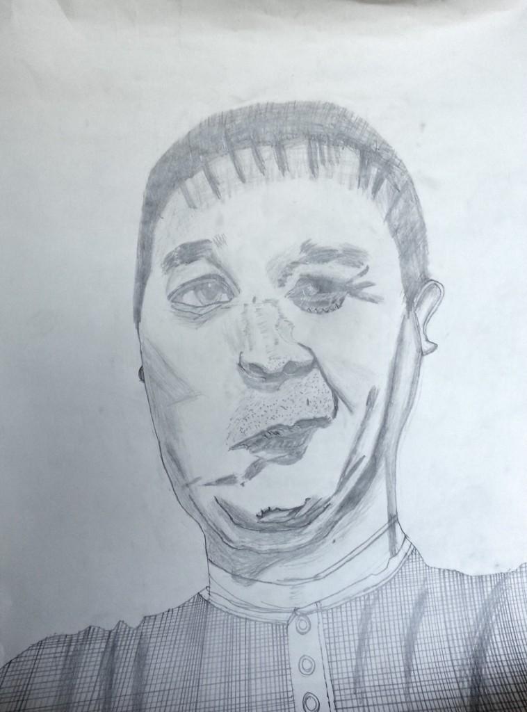 Drawing - Self-Portrait - 01