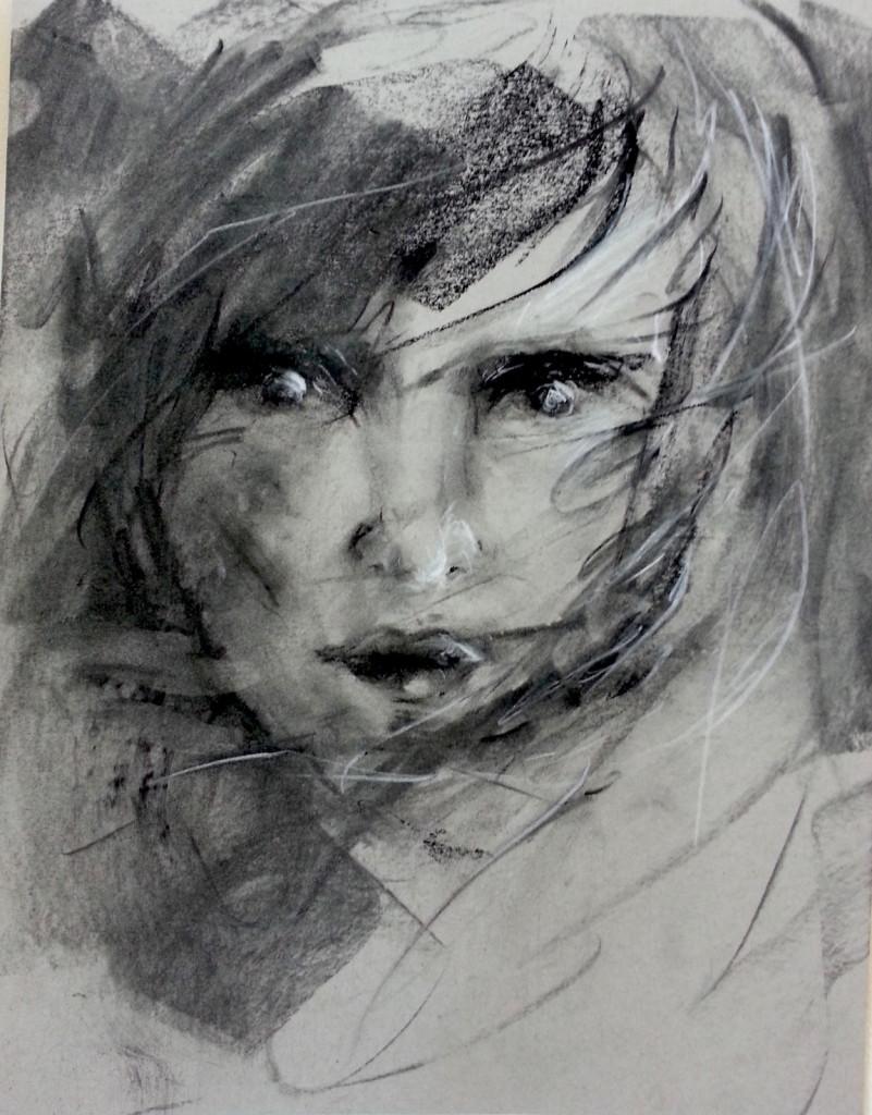 Drawing - Self-Portrait -1