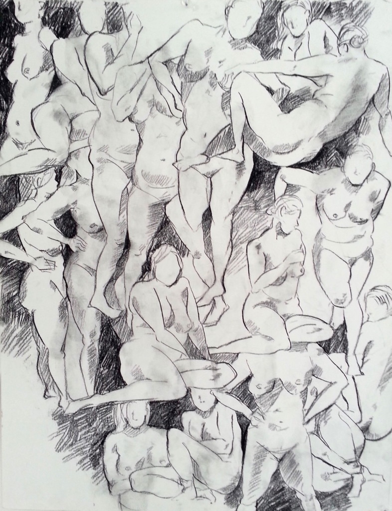 Drawing - figures 2