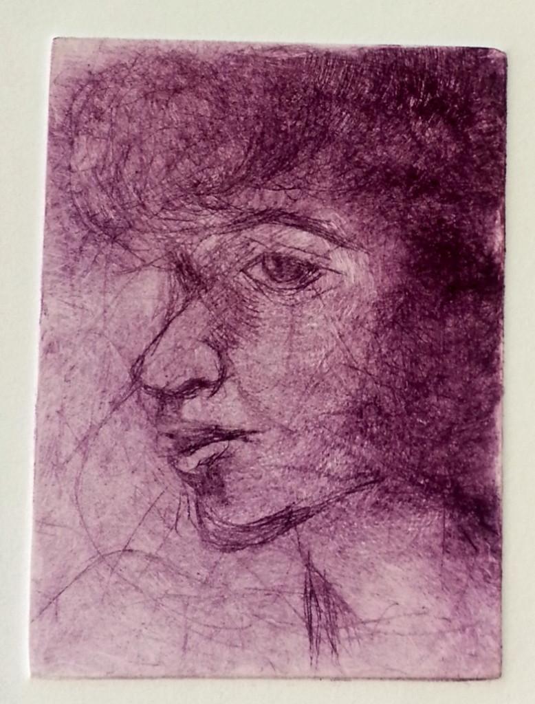 Printmaking - etching drypoint aquatint