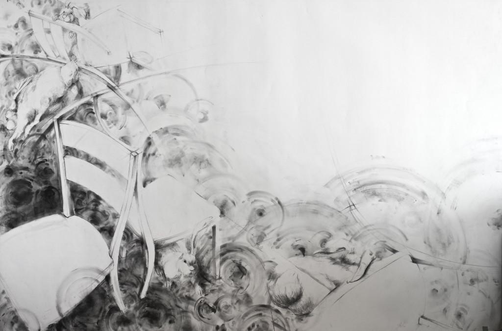 Domesticity - 84x60-graphite2016