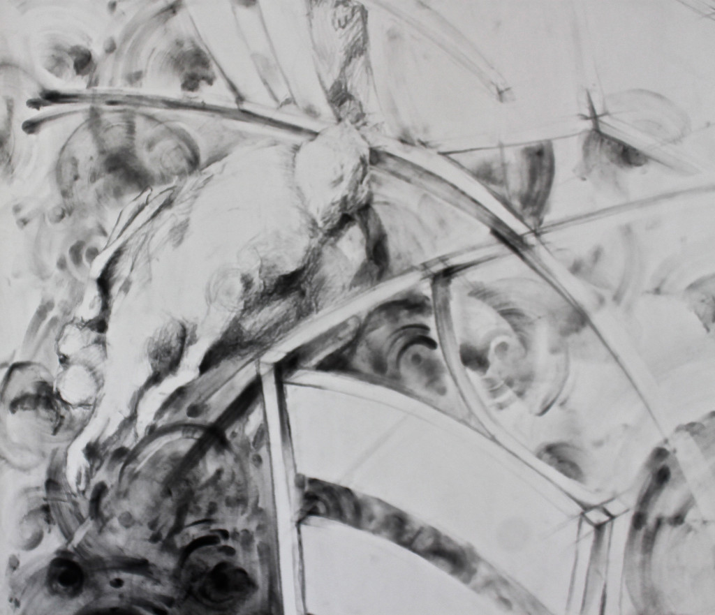 Domesticity detail1 - 84x60-graphite2016